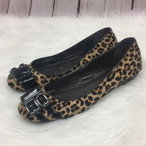 🌸 [Calvin Klein] Flats Shoes Size 8.5 Cheetah